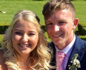 Jamie Heavens Scratch Card Winner Wedding