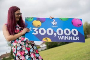 Care Worker wins £300,000 on scratch-card