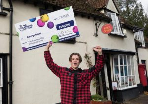 Digger Driver wins big with £2 scratch card